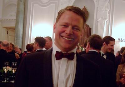 Holger Quandt bei dem Staatsbankett Horst Köhler
